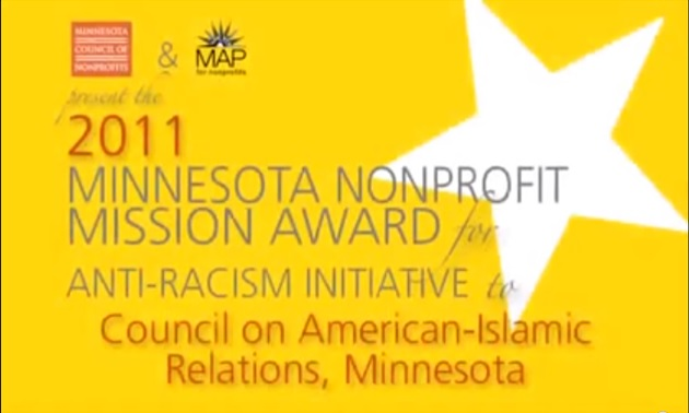 CAIR-MN Receives Major Anti-Racism Award