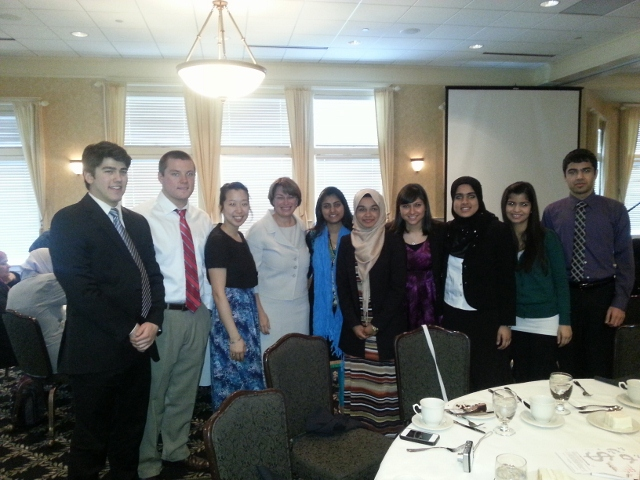 interns with Senator Klobuchar